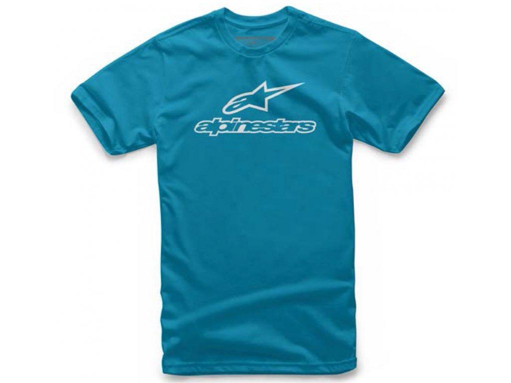 Pánské světle-modré tričko ALWAYS TEE Alpinestars krátké 1037-72102 7620