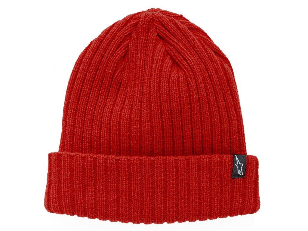 Čepice červená RECEIVING BEANIE Alpinestars 1037-81504 30