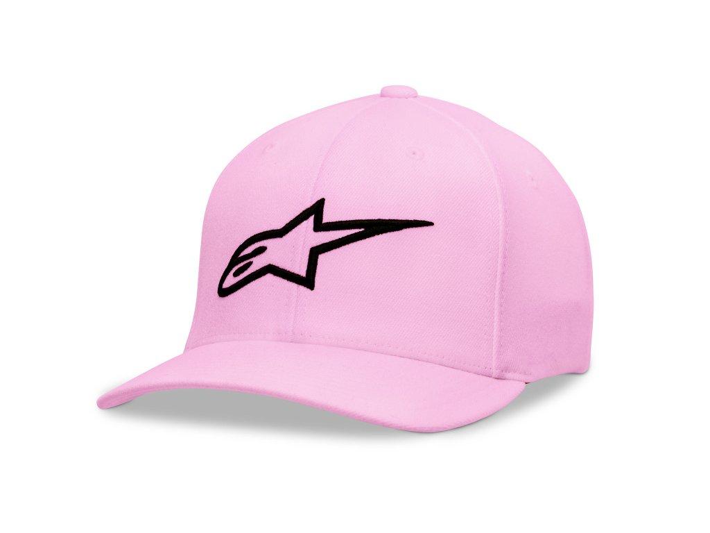 Dámská růžová kšiltovka AGELESS HAT Alpinestars 1W38-81100 3101 1038-81100 3101