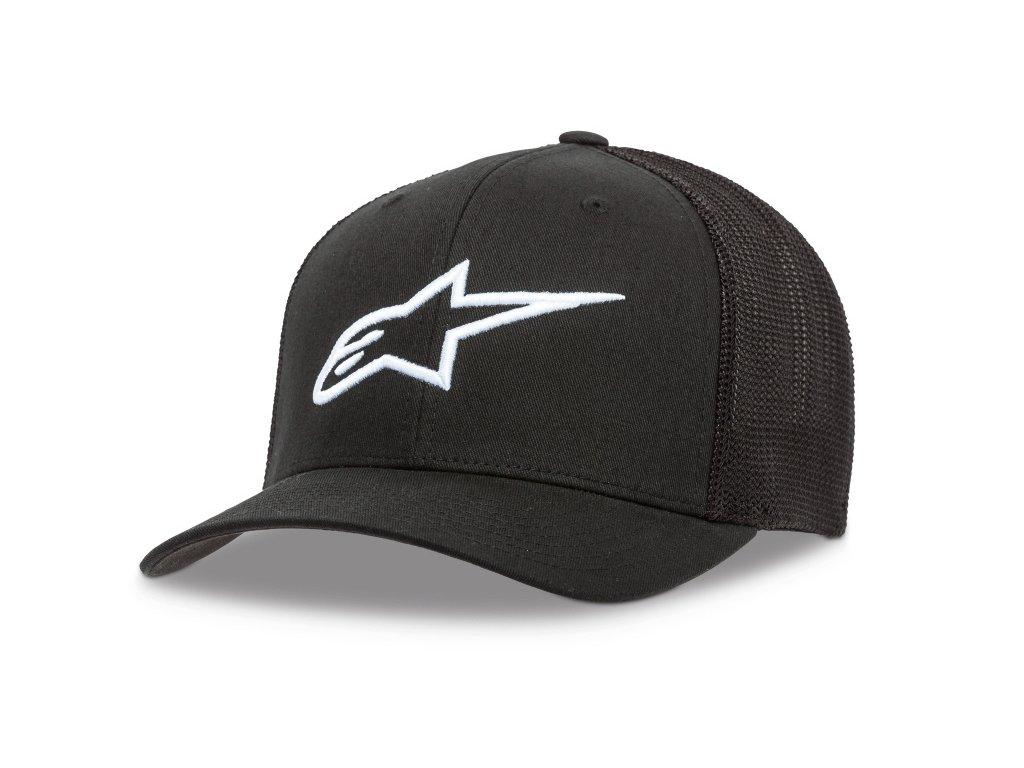 Dámská černá kšiltovka AGELESS TRUCKER HAT Alpinestars 1W38-81200 1020 1038-81200 1020