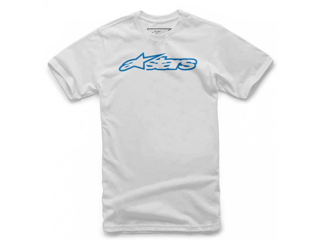 Dětské bílé tričko BLAZE TEE Alpinestars krátké 3038-72000 2072