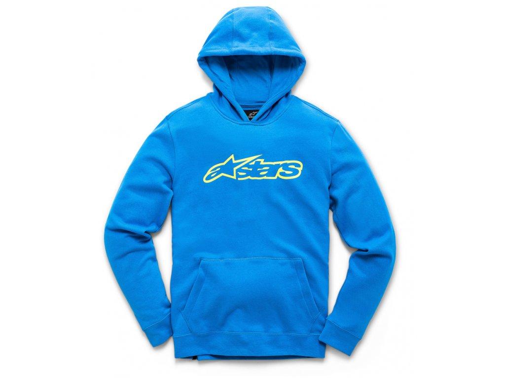 Dětská modrá mikina BLAZE FLEECE Alpinestars 3038-51000 7255