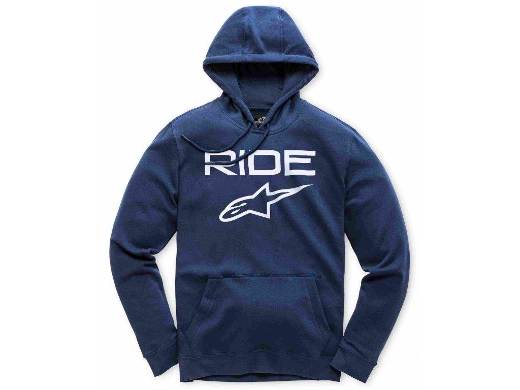 Pánská modro-bílá mikina RIDE 2.0 FLEECE Alpinestars 1119-51000 7020