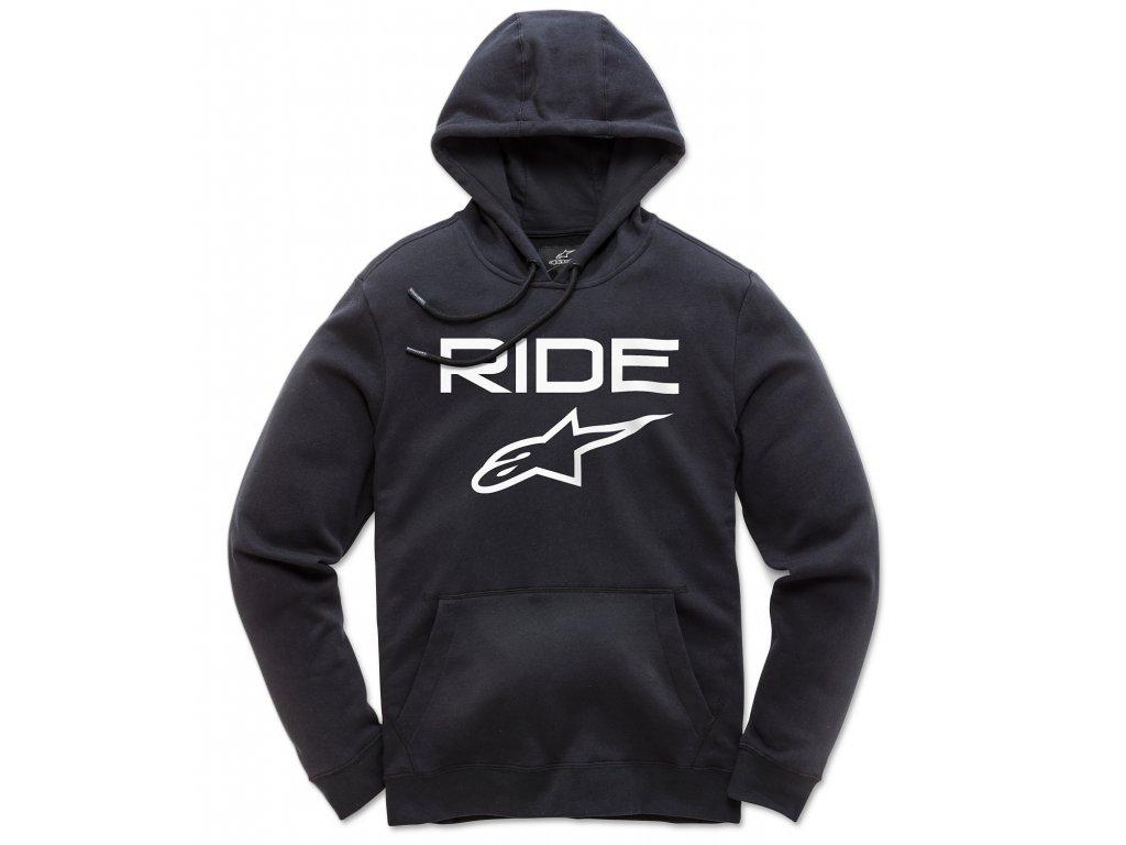 Pánská černá mikina RIDE 2.0 FLEECE Alpinestars 1119-51000 1020