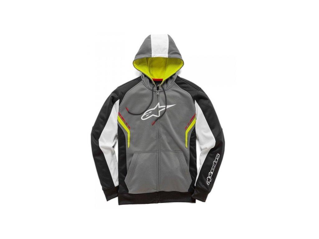 Pánská tmavě-šedá mikina STRIKE FLEECE Alpinestars 1019-53102 18