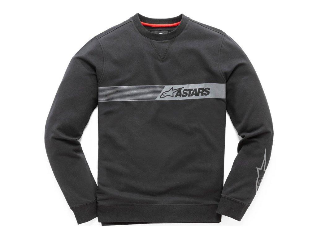 Pánská černá mikina LEFTY FLEECE Alpinestars 1019-51023 10