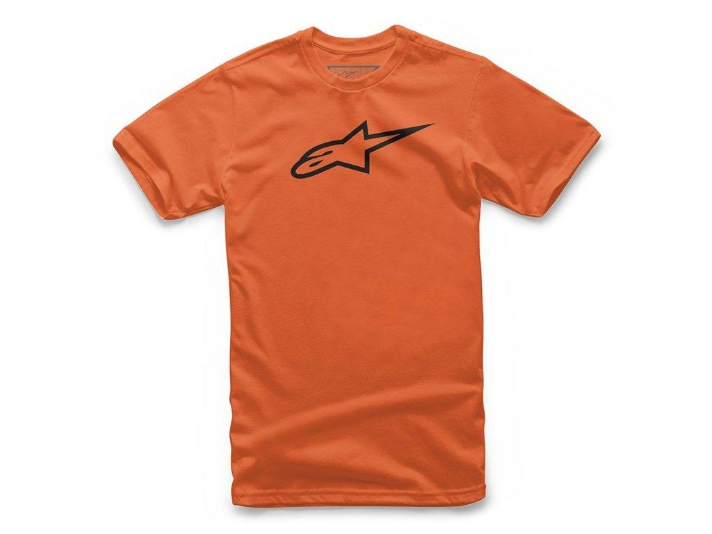 Dětské oranžové tričko AGELESS TEE Alpinestars krátké 3038-72002 4010
