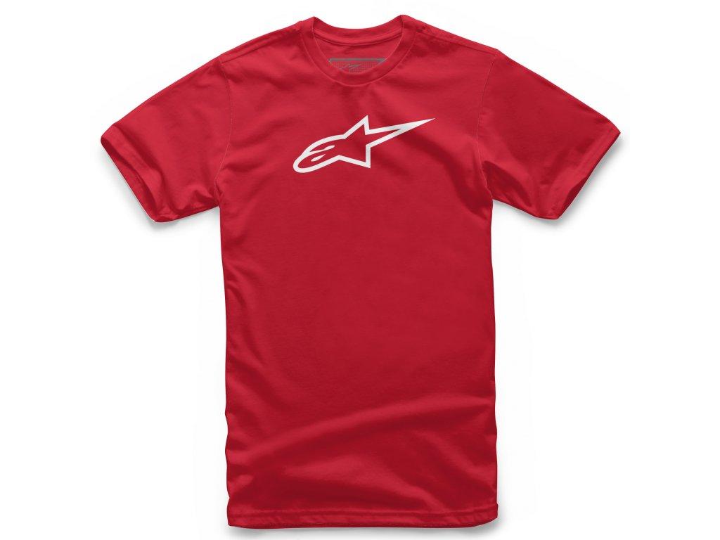Dětské červené tričko AGELESS TEE Alpinestars krátké 3038-72002 3020