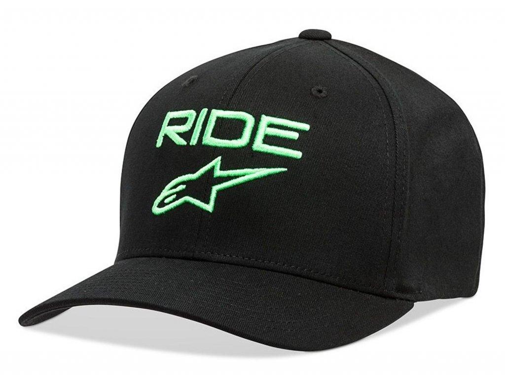 Pánská černá kšiltovka RIDE 2.0 HAT Alpinestars 1019-81114 1060-M