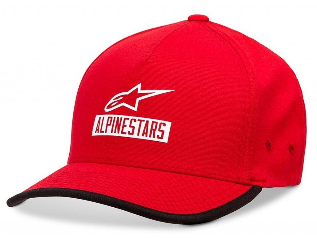 Pánská červená kšiltovka PRESEASON HAT Alpinestars 1019-81128 30-M