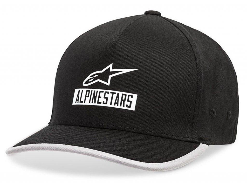 Pánská černá kšiltovka PRESEASON HAT Alpinestars 1019-81128 10-M