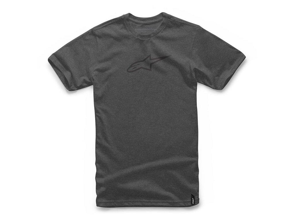 Pánské šedé tričko AGELESS II TEE Alpinestars krátké 1037-72022 1910