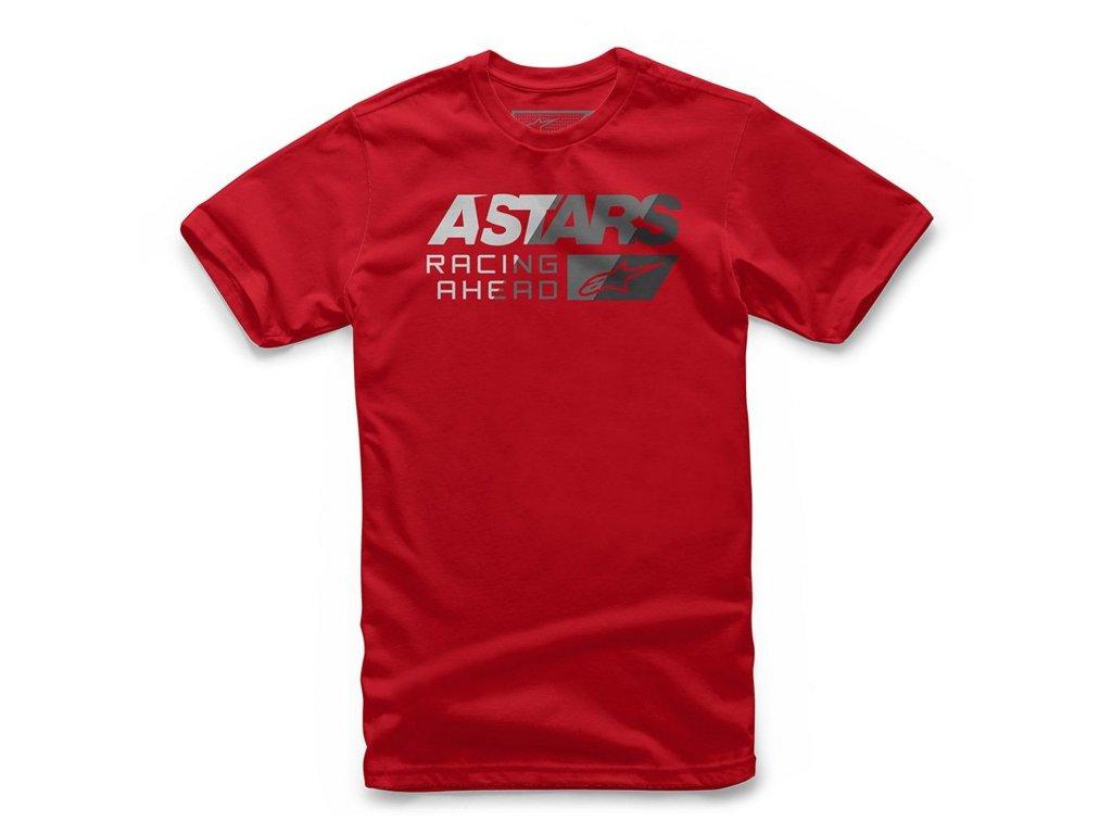 Pánské červené tričko PACER TEE Alpinestars krátké 1119-72020 30