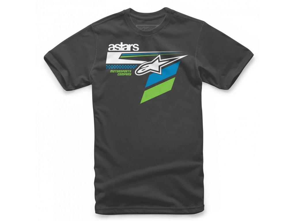 Pánské černé tričko FREEDOM TEE Alpinestars krátké 1139-72215 10