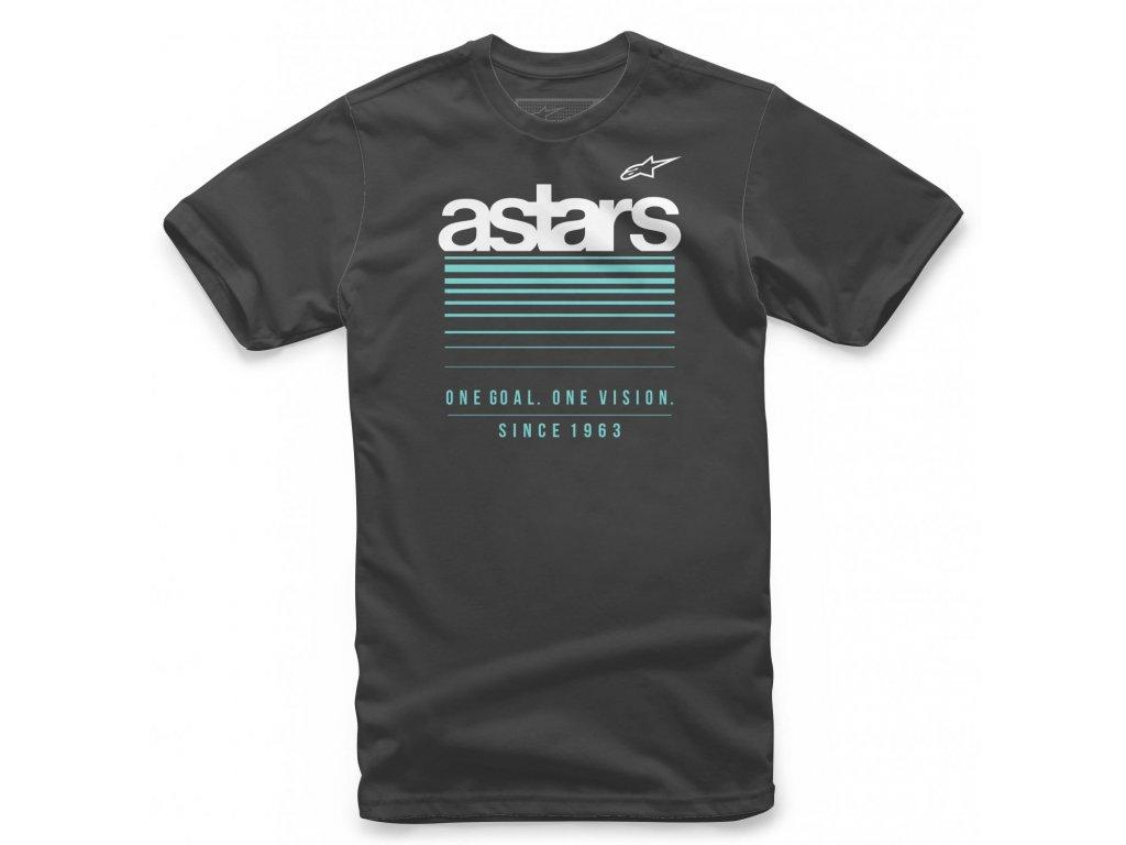 Pánské černé tričko SHIFTING TEE Alpinestars krátké 1139-72245 10