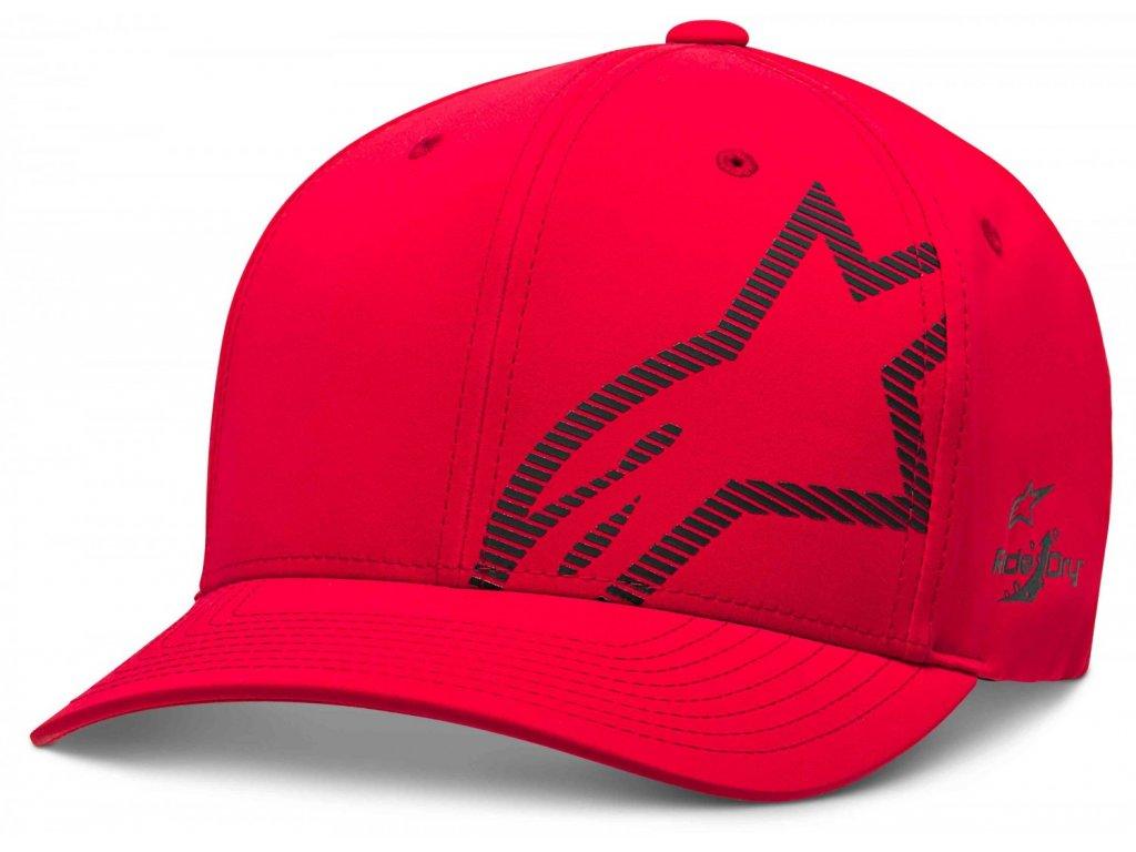 Pánská červená kšiltovka CORP SHIFT WP TECH HAT Alpinestars 1139-81500 3010-M