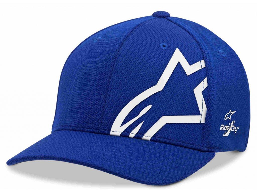 Pánská bílo - modrá kšiltovka CORP SHIFT SONIC TECH HAT Alpinestars 1019-81110 7920-M