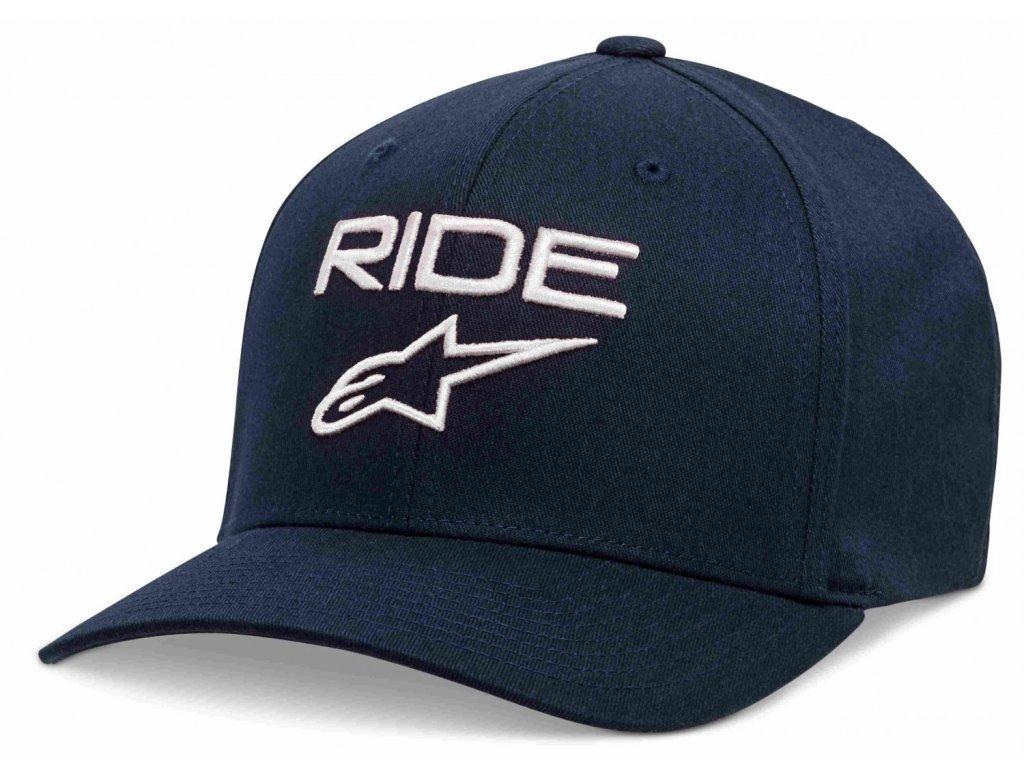 Pánská tmavě-modrá kšiltovka RIDE 2.0 HAT Alpinestars 1019-81114 7020-M
