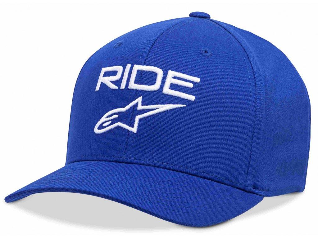 Pánská modro-bílá kšiltovka RIDE 2.0 HAT Alpinestars 1019-81114 7920-M