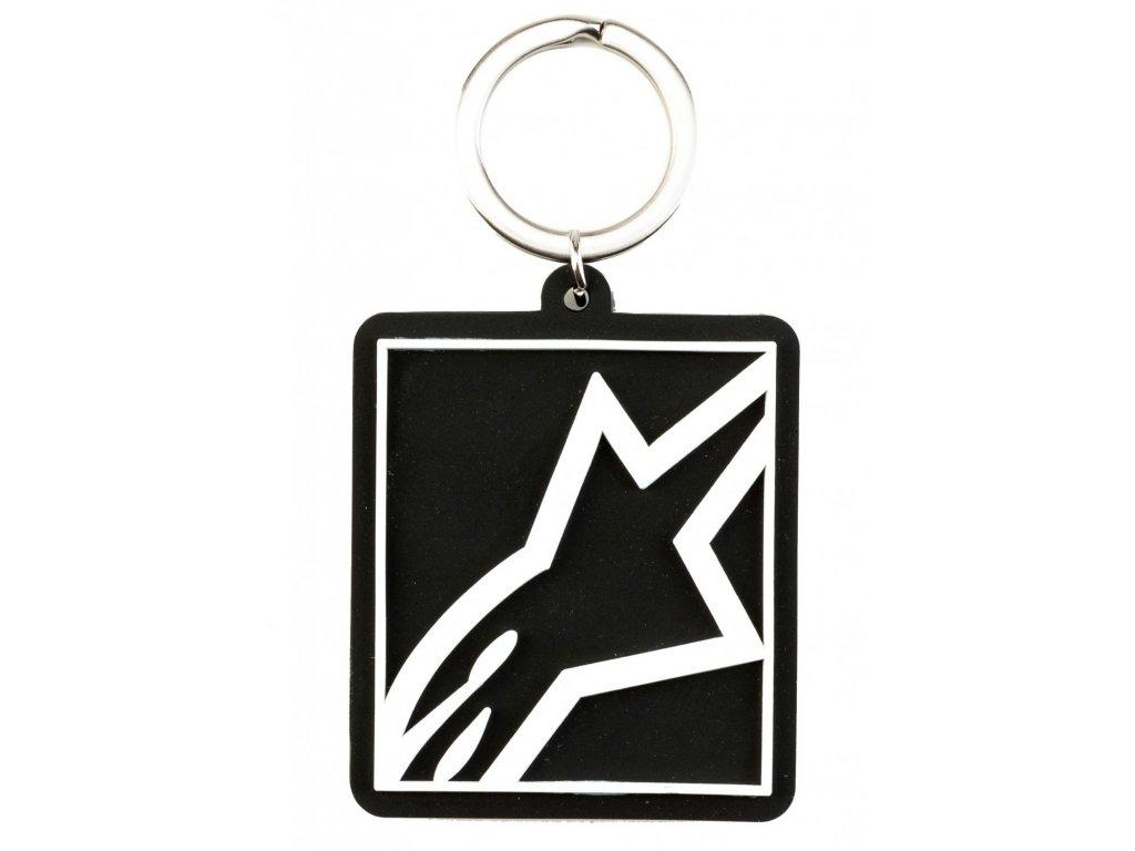 Klíčenka černá CORP SHIFT KEY FOB Alpinestars 1019-94004 10