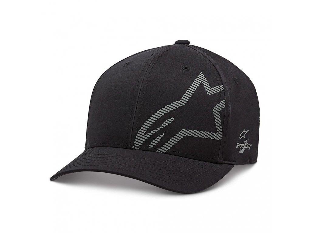 Pánská černá kšiltovka CORP SHIFT WP TECH HAT Alpinestars 1139-81500 1018-M