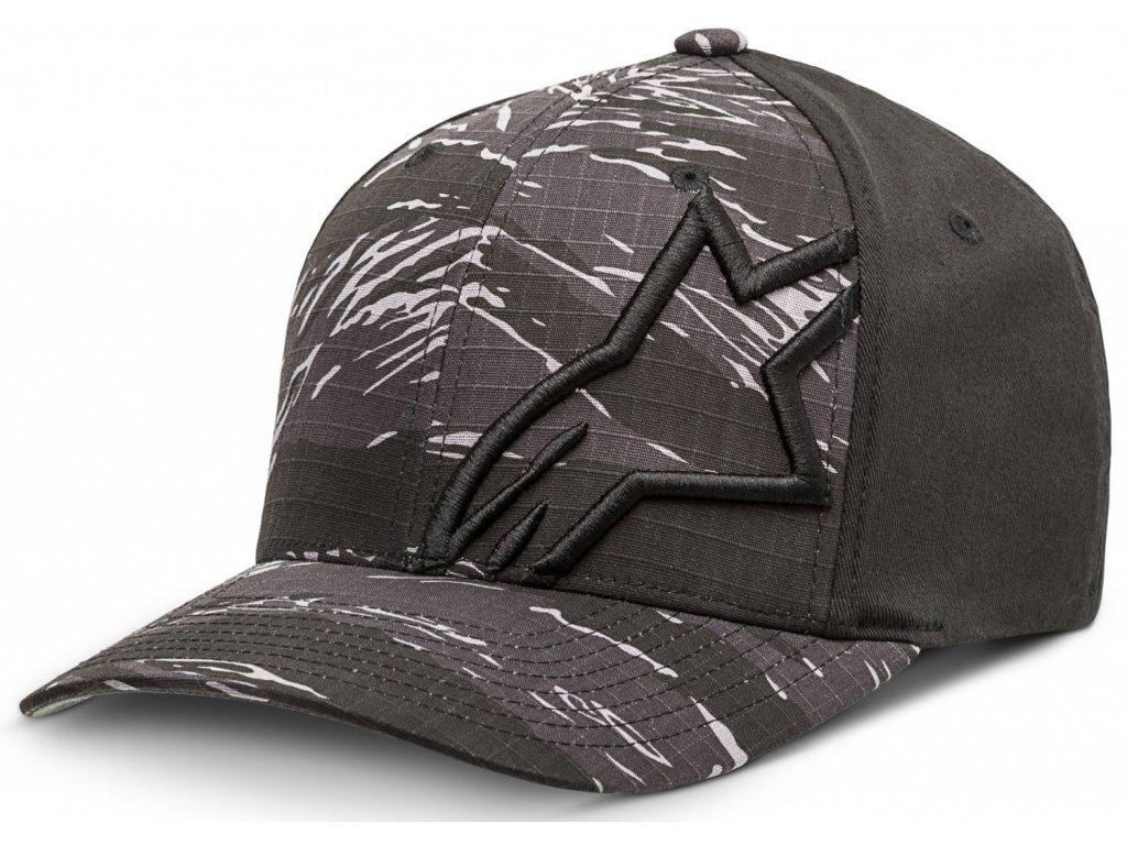 Pánská šedá kšiltovka CORP CAMO HAT Alpinestars 1027-81022 18-M
