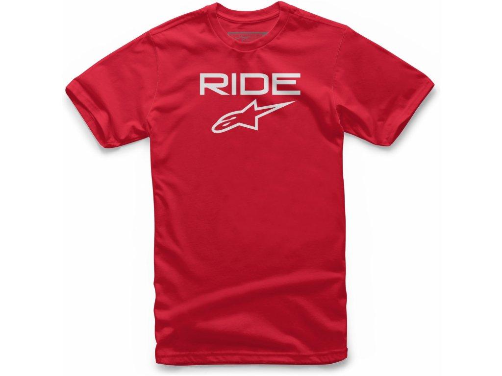 Dětské červené tričko RIDE 2.0 TEE Alpinestars krátké 3038-72010 3020