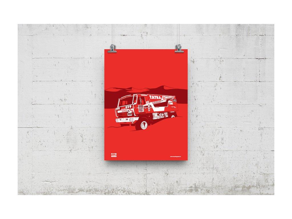 Poster Lusso Legends Tatra Rally Dakar