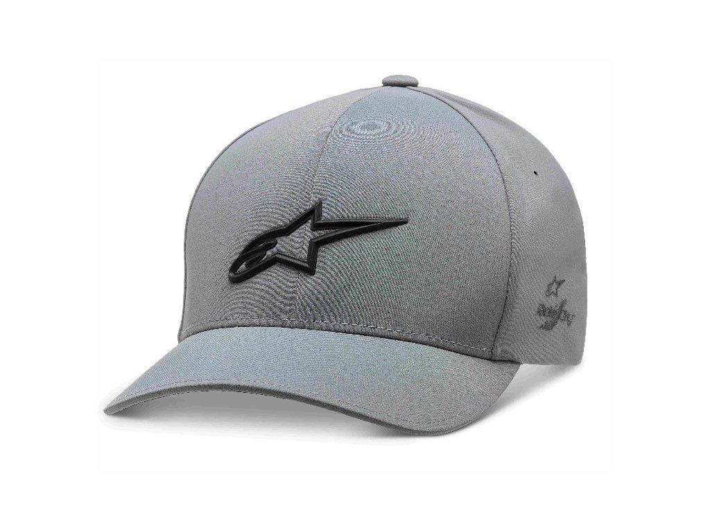 Pánská šedá kšiltovka AGELESS DELTA HAT Alpinestars 1019-81100 18-M