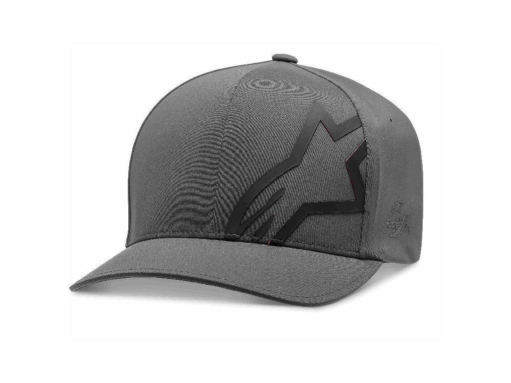 Pánská šedá kšiltovka CORP SHIFT DELTA HAT Alpinestars 1019-81102 18-M