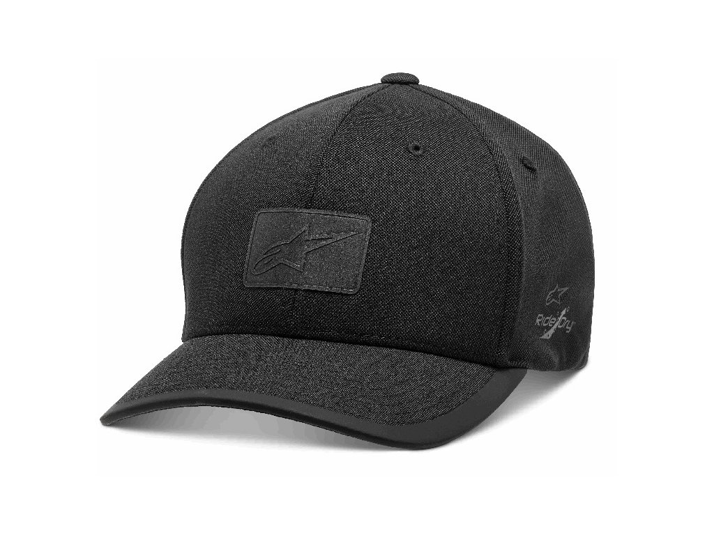Pánská černá kšiltovka TEMPO HAT Alpinestars 1210-81000 10-XL