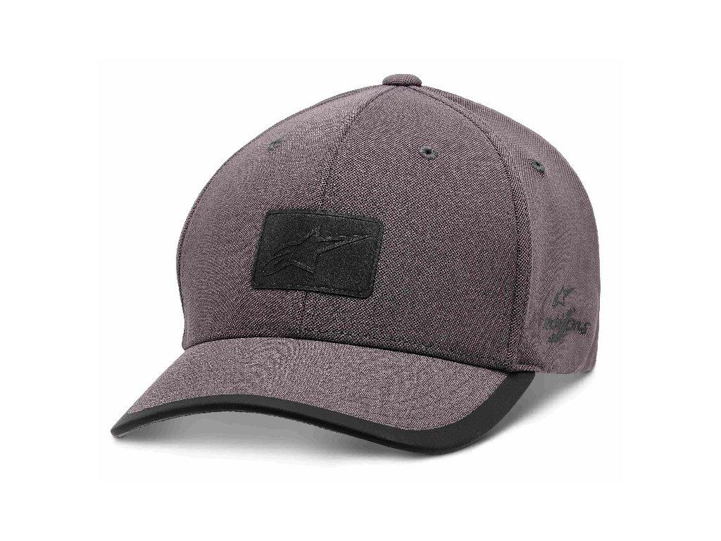 Pánská šedá kšiltovka TEMPO HAT Alpinestars 1210-81000 18-XL