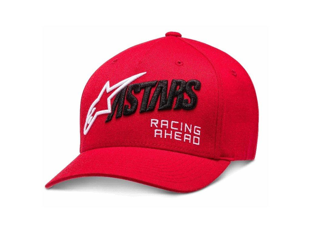 Pánská červená kšiltovka TITLE HAT Alpinestars 1210-81060 30-M