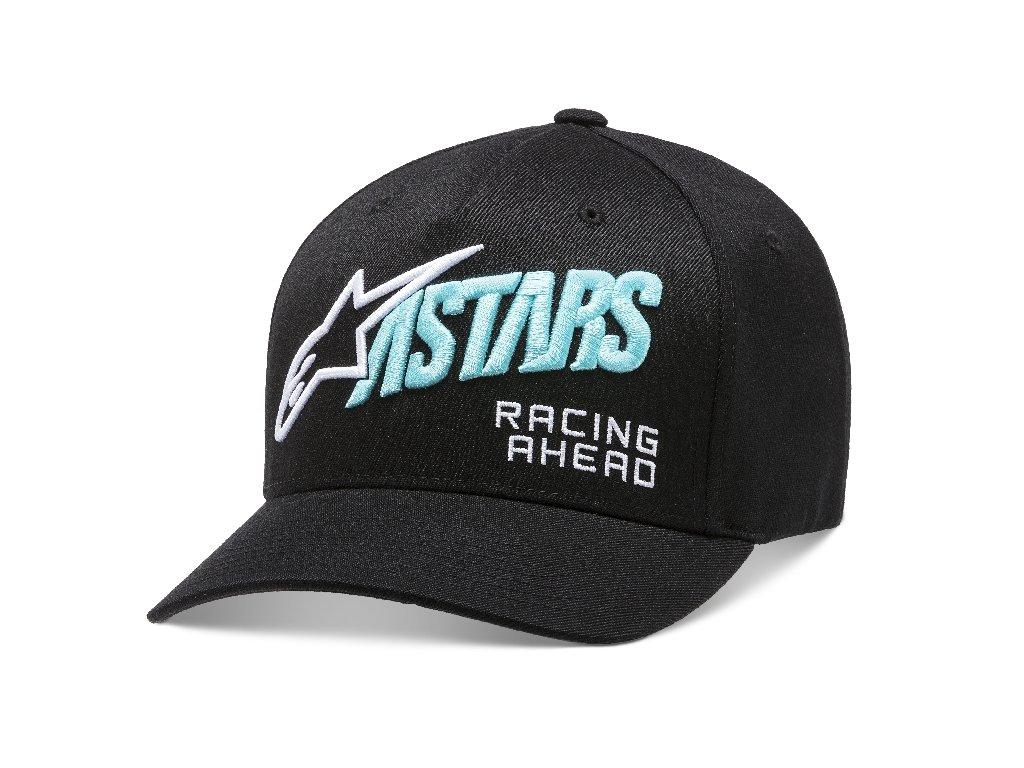 Pánská černá kšiltovka TITLE HAT Alpinestars 1210-81060 10-M