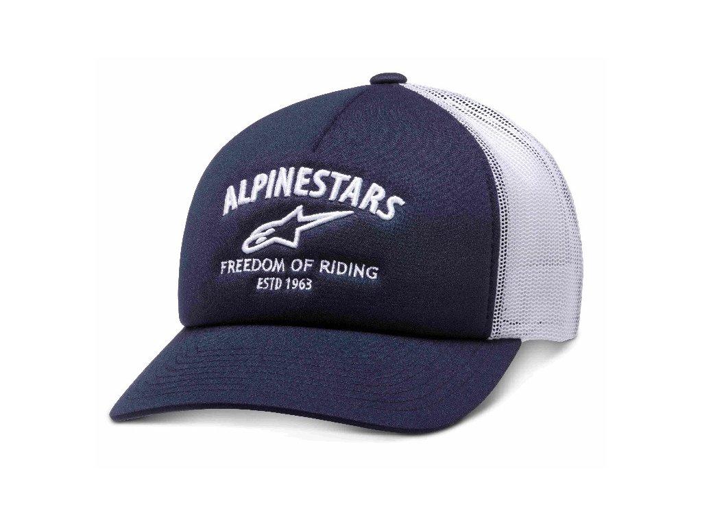 Pánská modrá kšiltovka LOCKDOWN HAT Alpinestars 1210-81090 70