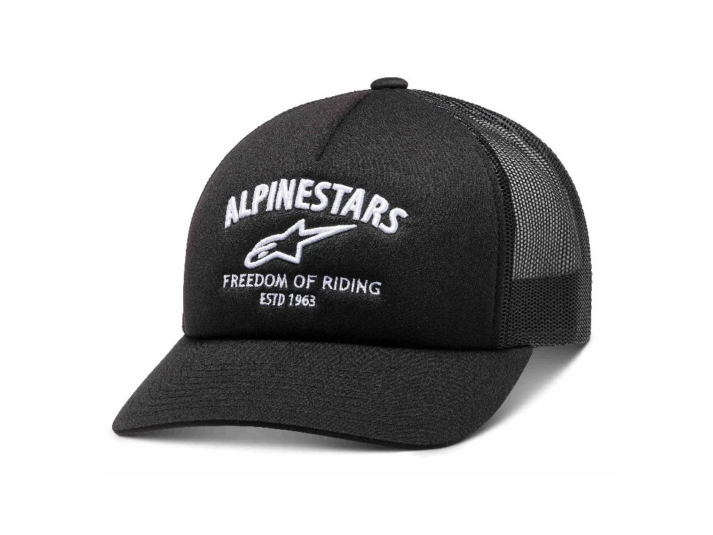 Pánská černá kšiltovka LOCKDOWN HAT Alpinestars 1210-81090 10