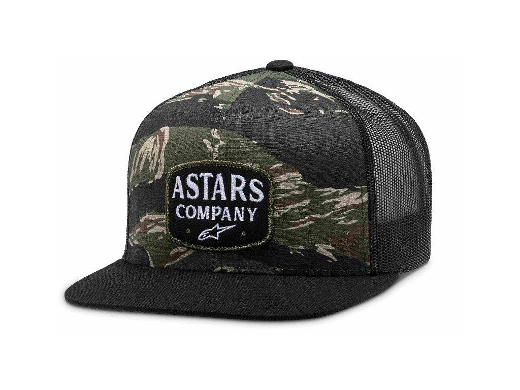Pánská zelená kšiltovka EXPLORE HAT Alpinestars 1210-81130 60