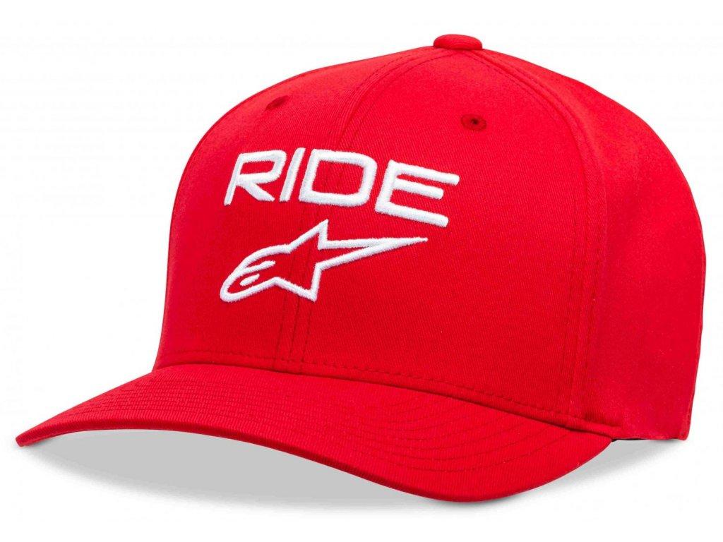 Pánská červená kšiltovka RIDE 2.0 HAT Alpinestars 1019-81114 30-M