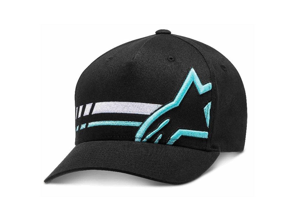 Pánská černá kšiltovka UNIFIED HAT Alpinestars 1210-81010 10-M