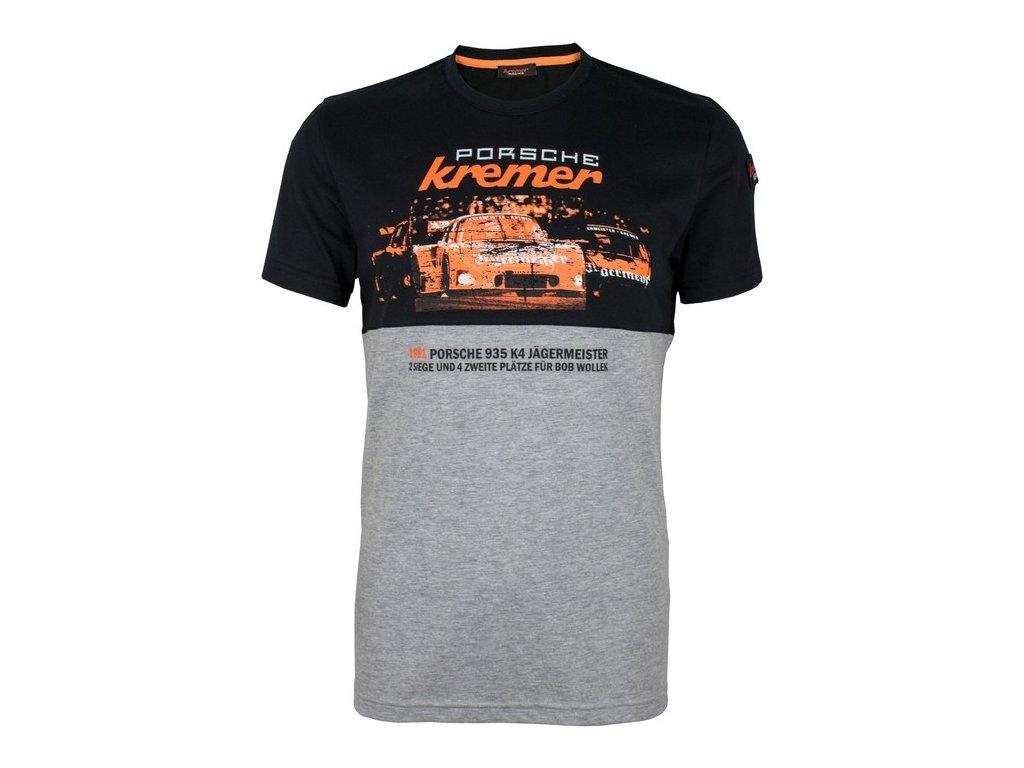 Pánské černé tričko Jägermeister Kremer Racing