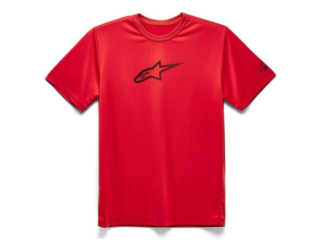 Pánské červené prémiové tričko TECH AGELESS PREMIUM TEE Alpinestars krátké 1139-73000 30