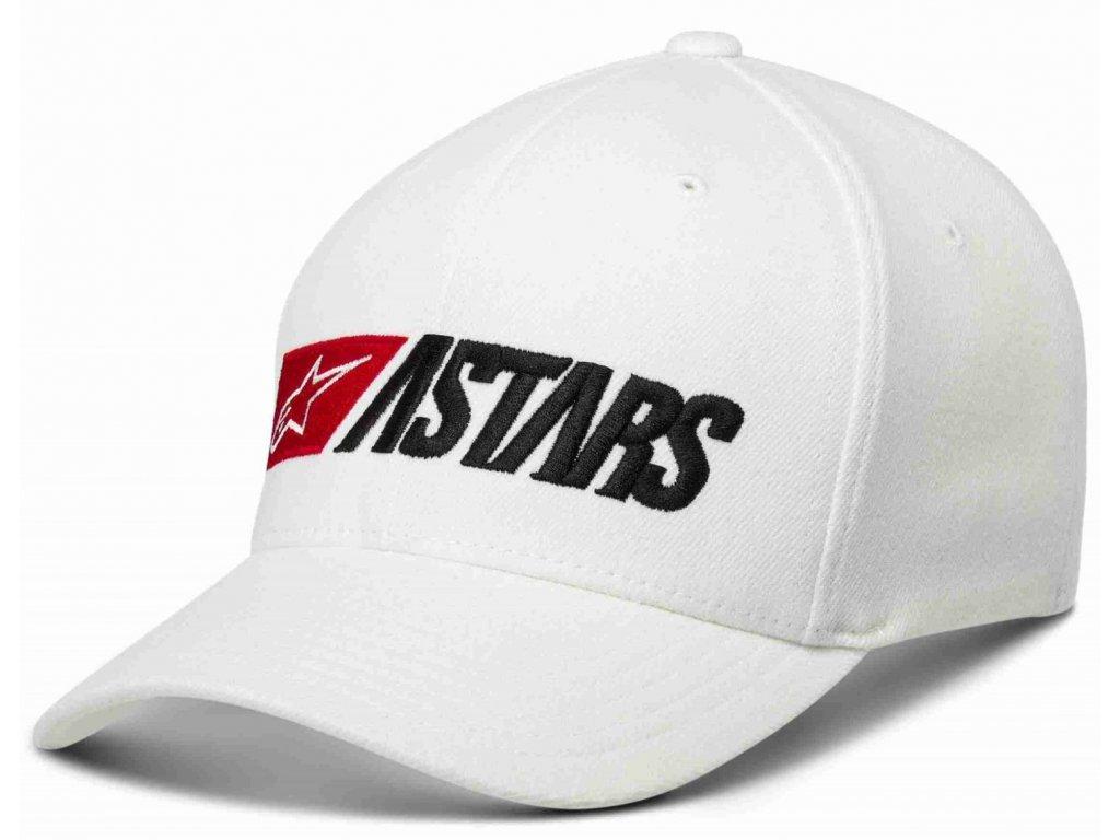 Pánská bílá kšiltovka INDULGENT HAT Alpinestars 1139-81520 20-M