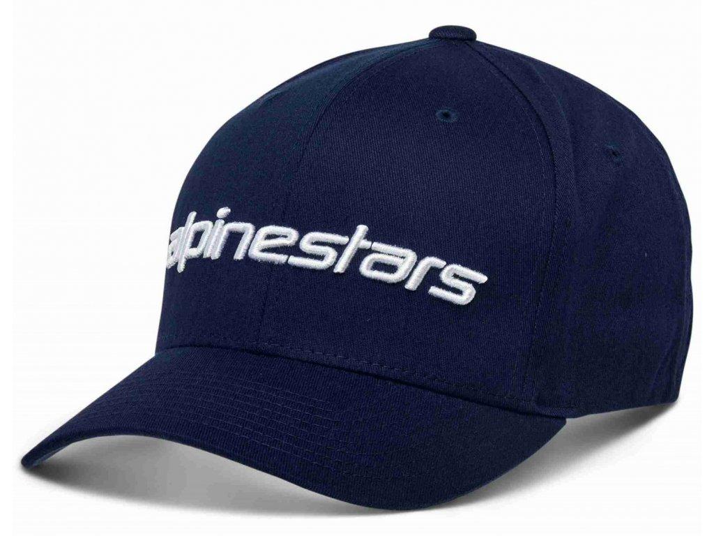 Pánská modrá kšiltovka LINEAR HAT Alpinestars 1230-81005 7020-M