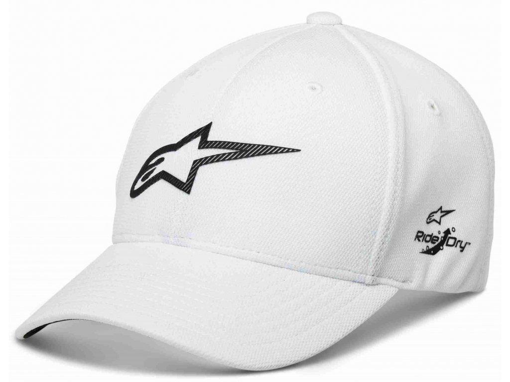 Pánská bílá kšiltovka AGELESS VELO TECH HAT Alpinestars 1230-81002 20