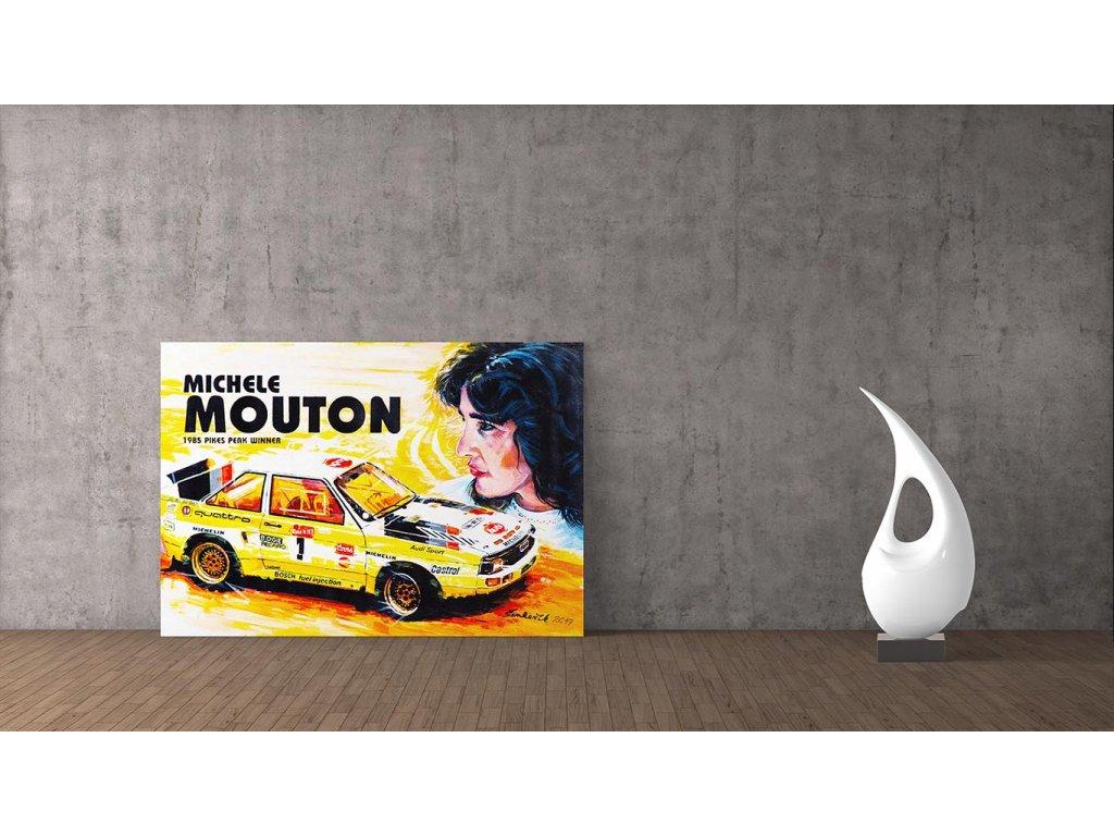 Hlinikovy obraz Lusso Legends Michele Mouton Pikes Peak 1985 1