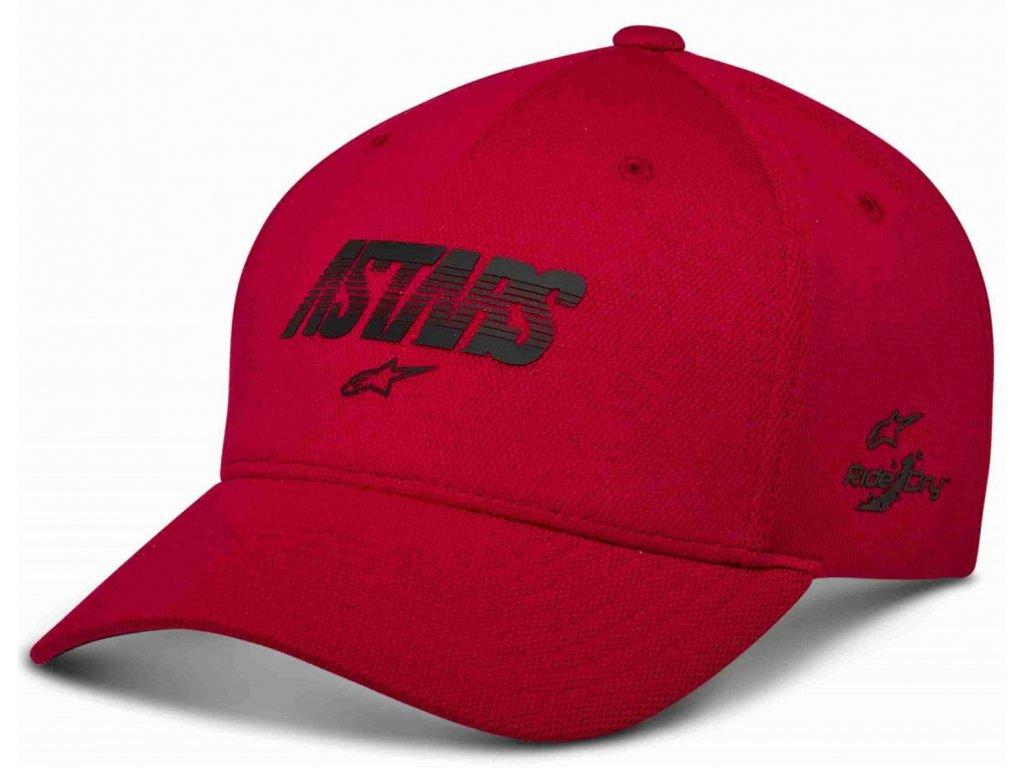 Pánská červená kšiltovka ANGLE VELO TECH HAT Alpinestars 1230-81003 30