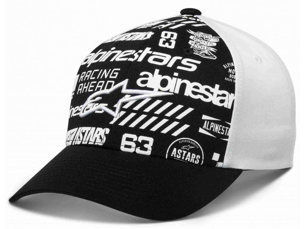 Pánská černá kšiltovka CHAOS HAT Alpinestars 1230-81007 1020
