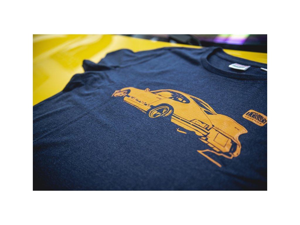 Lusso Legends panske tricko Porsche Carrera 911 melir 8