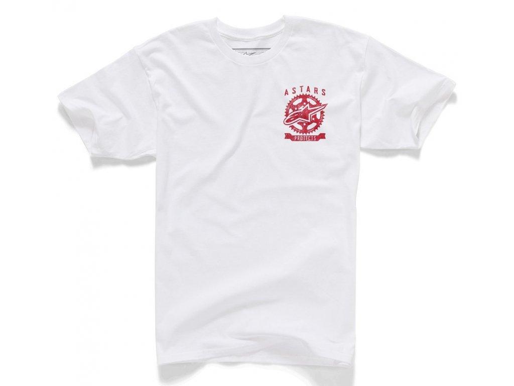 Pánské bílé tričko PROTECTS TEE Alpinestars krátké 1015-72001 20