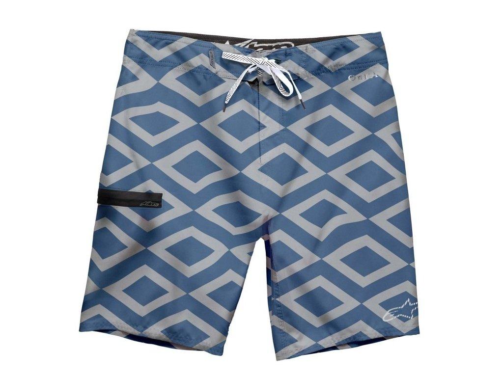 Pánské modré krátké plavky QUEST BSHORT Alpinestars 1015-24007 72 - 30